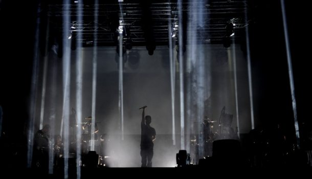 Woodkid, en concert extérieur au Quartier des spectacles