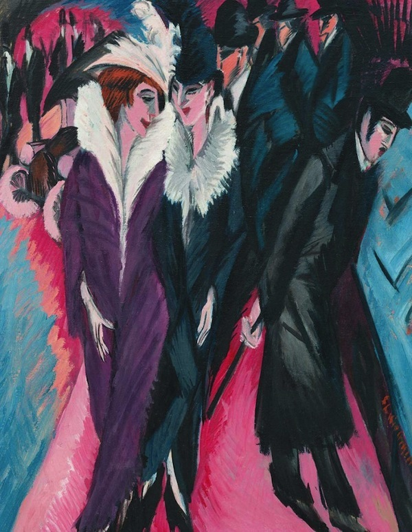 Rue-a-Berlin-Ernst-Ludwig-Kirchner-MBAM-Critique-Sorties-Expositions-Bible-urbaine