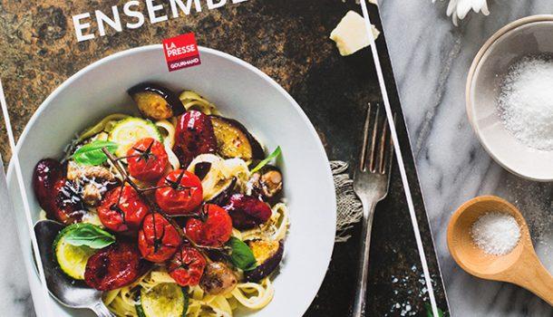 «Ensemble, cuisine gourmande et colorée» de Christelle Tanielian