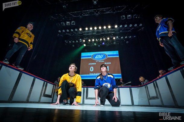 La grande finale de la Coupe Charade de la LNI