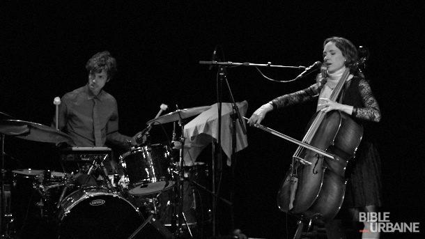 Jorane en noir et blanc au Savoy du Métropolis