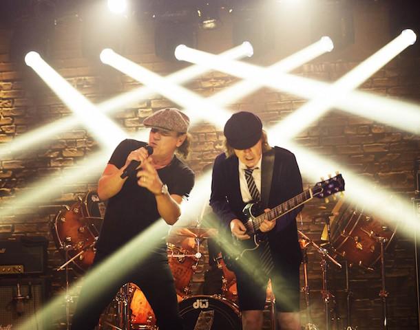 Les Australiens du groupe légendaire AC/DC au Québec les 28 et 31 d'août