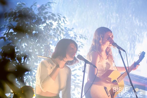Le lancement de l'album «4488 de l'Amour» des soeurs Boulay au Bain Mathieu