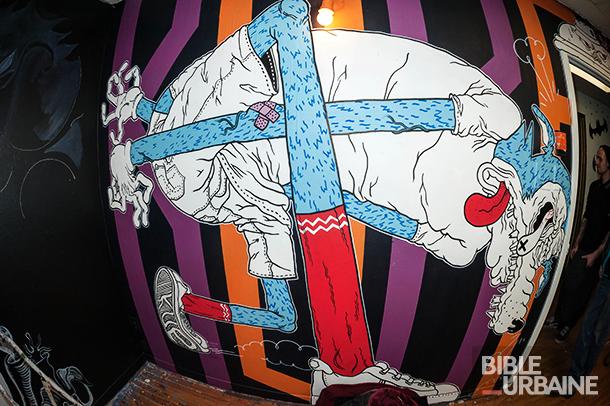 «Art la loi» présente: la 12e édition d'Art Attack à la Fresh Paint Gallery