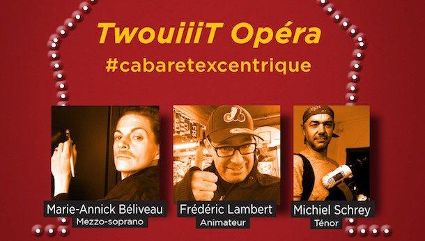 TwouiiiT Opéra au Cabaret Lion d'Or le 1er décembre 2015