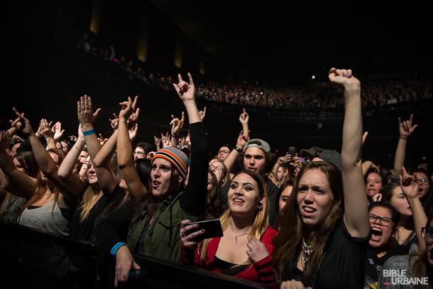 Three Days Grace et Halestorm au Métropolis de Montréal