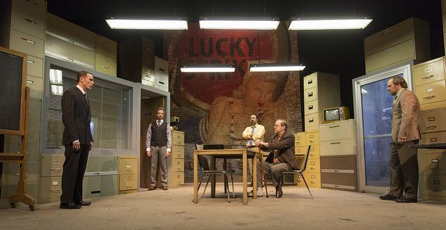 «Glengarry Glen Ross» de David Mamet au Théâtre du Rideau Vert