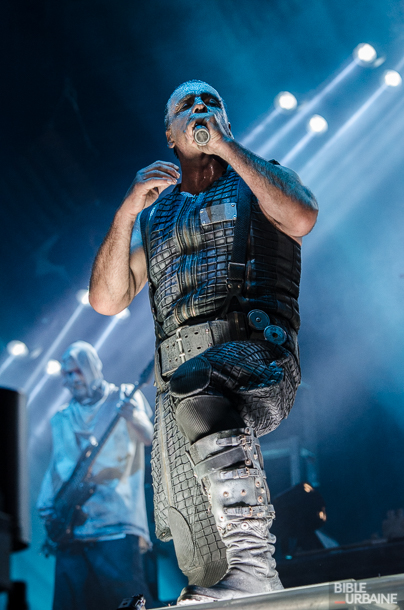 Rammstein et Gojira au Festival d'été de Québec 2016