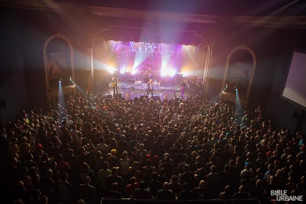 Steel Panther, The Agonist et Steve Hill à l'occasion du Festival d'été de Québec 2016