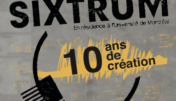 Venez célébrer les 10 ans de l'ensemble à percussion Sixtrum au Gesù le 28 septembre 2016