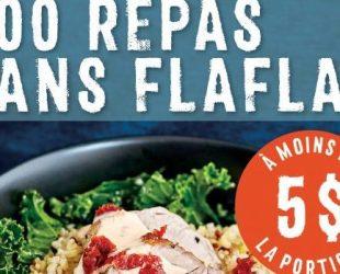 Le livre de recettes «300 repas sans flaflas» de Sonia Lizotte