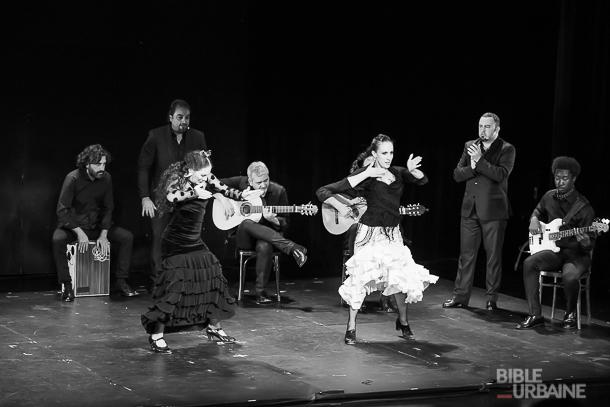 La troupe de flamenco «Soledad Barrio & Noche Flamenca» Gesù