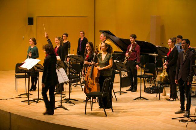 «Génération2016» de l'Ensemble contemporain de Montréal (ECM+)