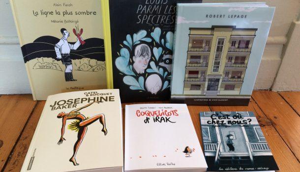 6 livres illustrés et romans graphiques à aimer et à donner à vos proches à Noël!