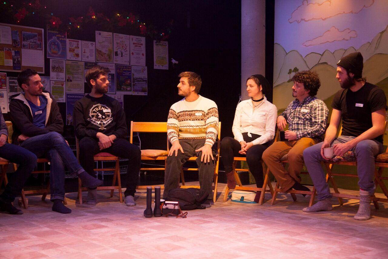 «Blink» dans une mise en scène de Charles Dauphinais au Théâtre Prospero