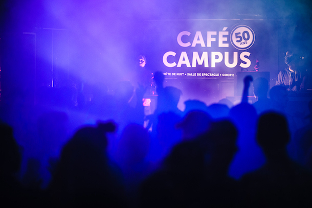 Cafe Campus St Laurent