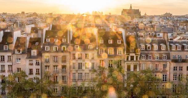 La Ville Lumière vue par Monique Giroux