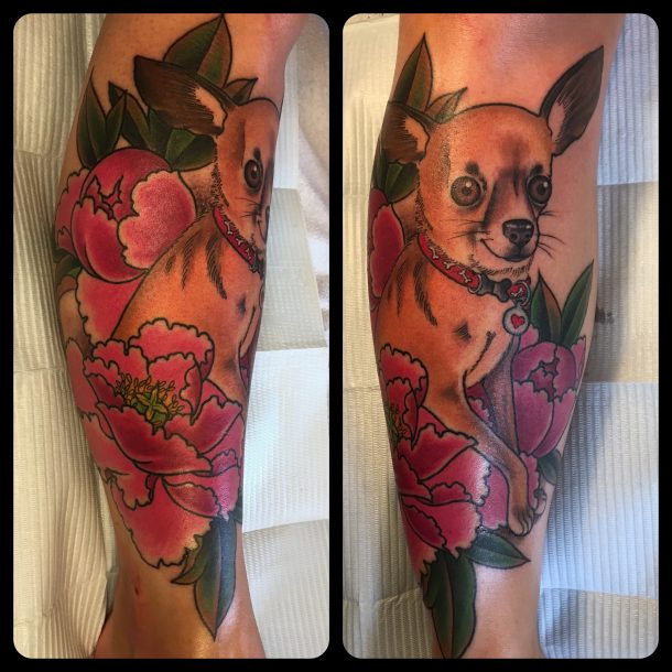 «Dans la peau de…» l'artiste tatoueuse Rebecca Guinard