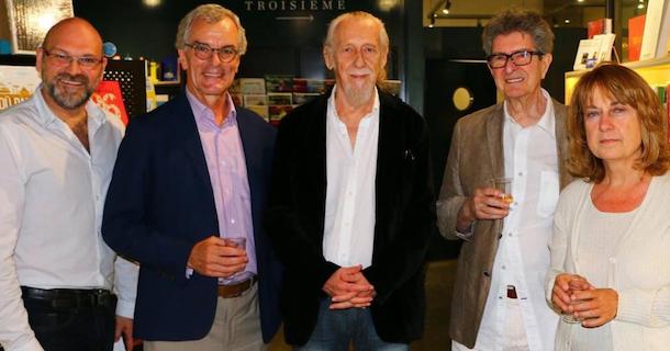 Le prix Hervé-Foulon est remis à Louis Gauthier à la Librairie de Verdun