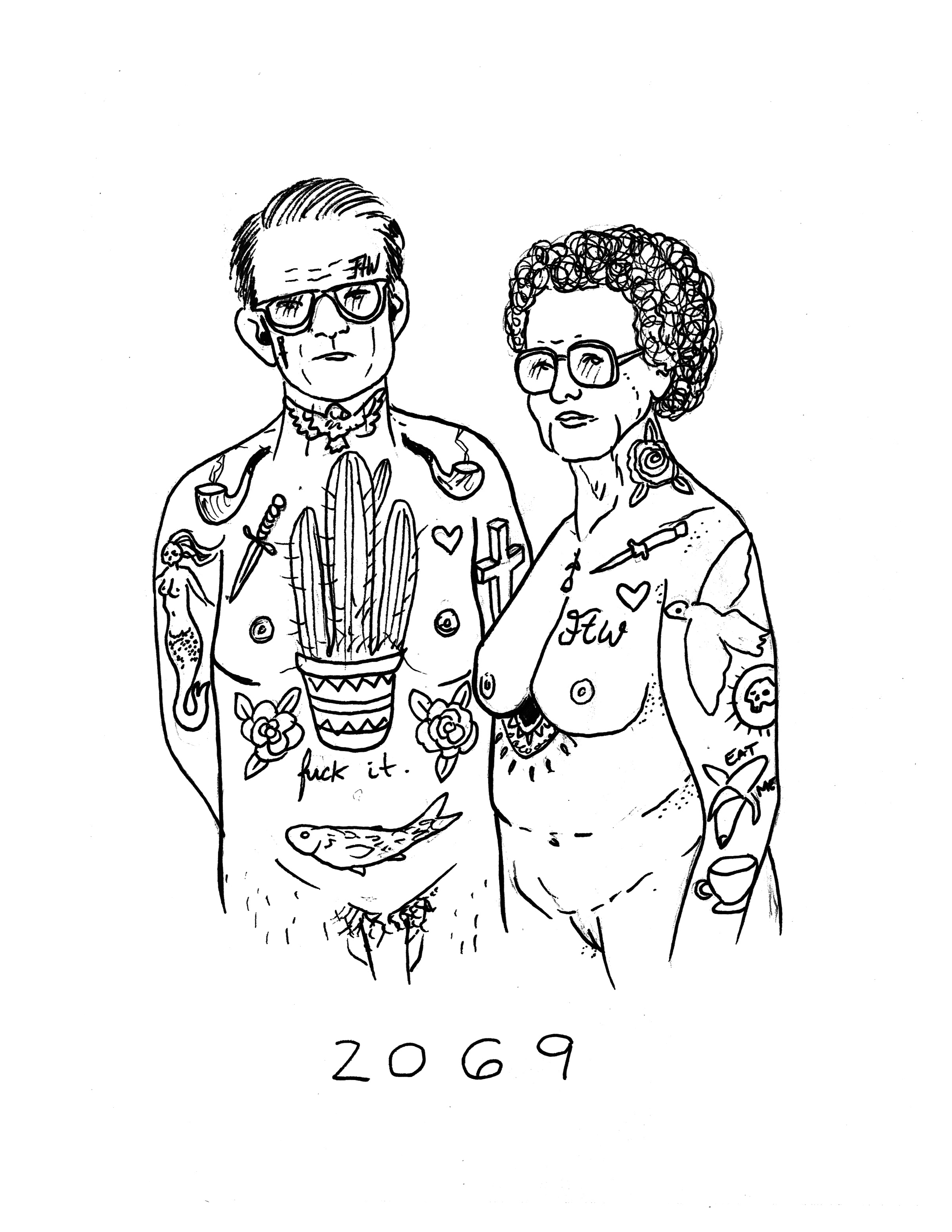 «Dans la peau de…» Mélodie Perrault, l'irrévérencieuse tatoueuse et illustratrice