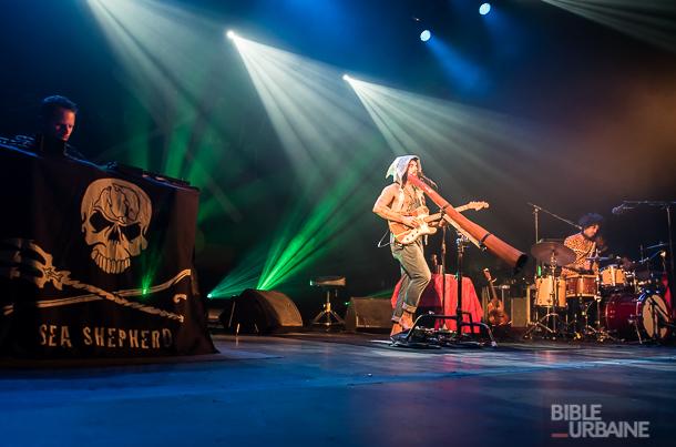 Nos 30 photos du passage de l'Australien Xavier Rudd au Métropolis de Montréal