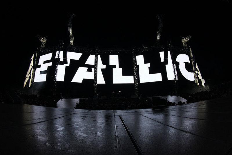 Metallica avec les invités Avenged Sevenfold et Volbeat au parc Jean-Drapeau de Montréal