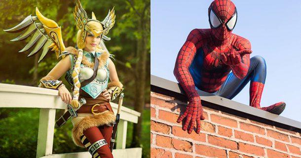 «Dans la peau de…» Element Cosplay et Spider Inferno