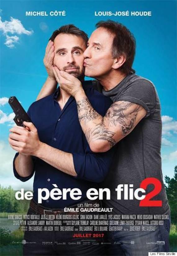 «De père en flic 2» d'Émile Gaudreault mettant en vedette Louis-José Houde et Michel Côté
