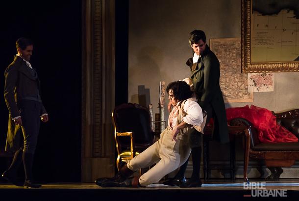 73 photos de la générale du thriller-opéra «Tosca» de l'Opéra de Montréal