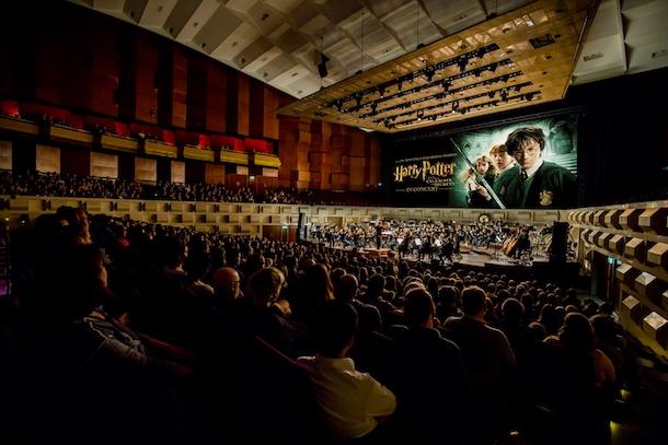 Le ciné-concert symphonique «Harry Potter and the Chamber of Secrets» à la Place des Arts