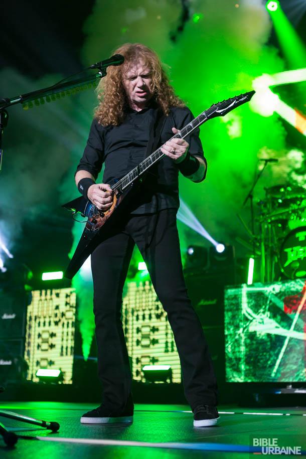 Scorpions et Megadeth à la Place Bell de Laval: deux poids lourds de la musique hard rock
