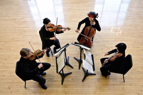 Quatuor Bozzini - Crédit: Michael Slobodian