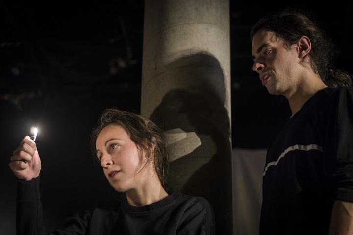 «Visage de feu» dans une mise en scène de Laurence Castonguay Emery au Théâtre Prospero