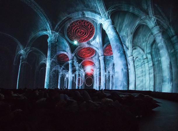 Expériences audiovisuelles sous le dôme avec «Liquid Architecture» et «Hyperform» à la SAT