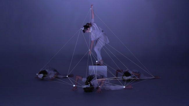 «discrete figures» de Rhizomatiks Research x ELEVENPLAY