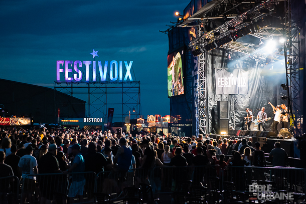 100 photos de la 25e édition du FestiVoix de Trois-Rivières