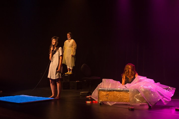 «Ta vie danse floue» d'Agathe Foucault dans le cadre de ZH Festival 2018