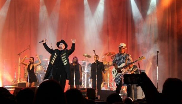 Boy George et Culture Club pour la soirée «Strangers in the Night» au Borough Hall