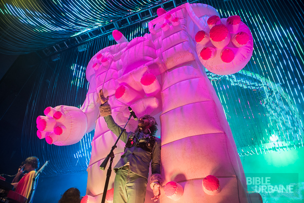 The Flaming Lips au MTELUS: «Fuck Yeah Montreal»