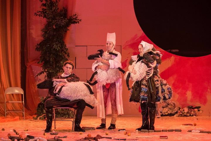 «Prouesses et épouvantables digestions du redouté Pantagruel» de Rabelais au Théâtre Denise-Pelletier