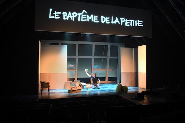 «Le baptême de la petite» au Théâtre Périscope de Québec