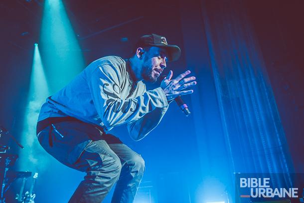 Mike Shinoda au MTELUS à l'occasion de la tournée «Post Traumatic»