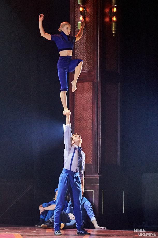 «Hotel» du Cirque Éloize: une dose de sages folies circassiennes