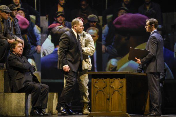 «Coriolan» de Shakespeare au TNM