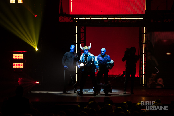 Une odyssée immersive dans l'univers déjanté de Blue Man Group au Théâtre St-Denis