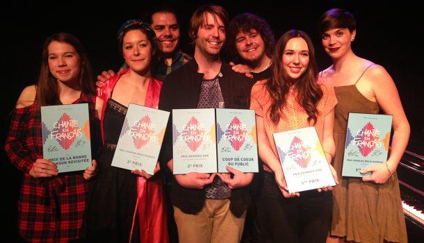 Le concours Chante en français: un incubateur de talents