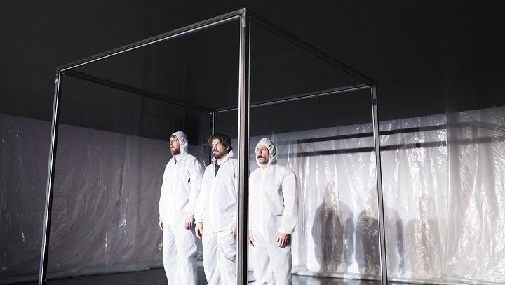 «L'exhibition» d'Emmanuel Schwartz, Francis La Haye et Benoit Gob au Théâtre La Chapelle