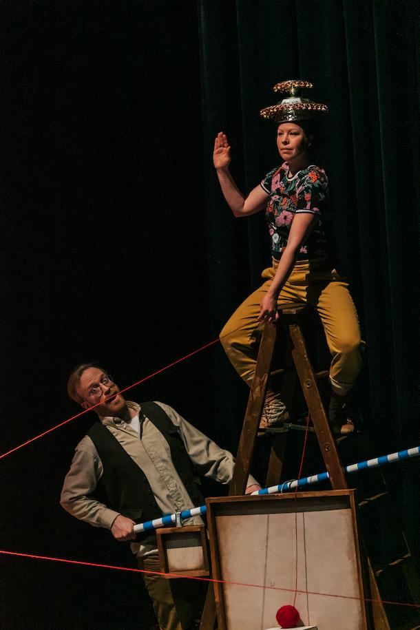 On invite petits et grands à découvrir le spectacle jeunesse «Courtepointe» à la Maison Théâtre!