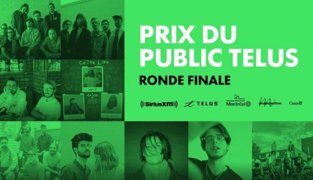 [Balado] À la découverte des 9 artistes en lice pour le Prix du public TELUS