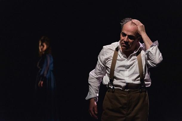 «Strindberg» dans une mise en scène de Luce Pelletier au Théâtre ESPACE GO